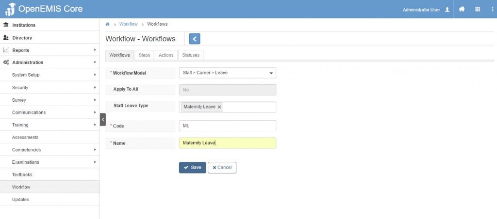 add workflow